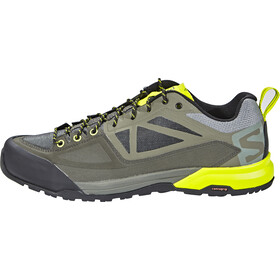 Salomon X Alp Spry Wandelschoenen Heren, castor gray/beluga/lime punch